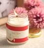 Resonance Apple Aroma Natural Wax Medium Jar Scented Candle