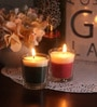 Resonance Green apple Christmas Festive Scented Candle - Set of 2