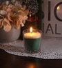 Green apple Christmas Festive Scented Candle by Resonance