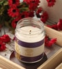 Resonance Candles Lavender Aroma Scented Natural Wax Jar Candle