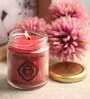 Meditation Root Chakra Clove & Cedar Aroma Essential Oil Healing Therapy Scented Candle by Resonance
