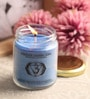 Meditation Vanilla & Bergamot Aroma Third Eye Chakra Essential Oil Healing Therapy Scented Candle by Resonance