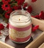 Resonance Candles Rose Aroma Scented Natural Wax Jar Candle