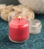 Resonance Strawberry Aroma Natural Wax Jar Scented Candle