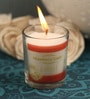 Resonance Strawberry Aroma Natural Wax Shot Glass Scented Candle