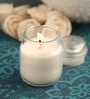 Resonance Vanilla Aroma Natural Wax Jar Scented Candle