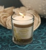 Vanilla Aroma Natural Wax Shot Glass Scented Candle by Resonance