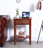 Restwold End Table in Honey Oak Finish by Amberville