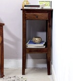 Richmond End Table in Provincial Teak Finish