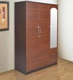Ritz Three Door Wardrobe in Wenge Finish
