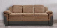 Rio Three Seater Sofa in Brown Colour