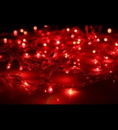 Red Copper Wire Rice Light