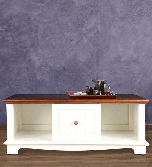 Richmond Center Table In Brown U0026 White Colour By HomeTown