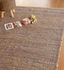 The Rug Republic brown and blue Chenille 91 x 63 Inch Area Rug