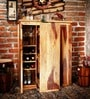 Oakland Branco Bar Cabinet in Natural Finish by Woodsworth