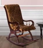 Rocking Chair in Dark Brown Colour