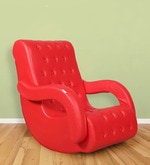 Rocking Chair in Red Colour