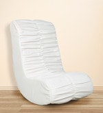 Daisy Rocking Chair in White Colour