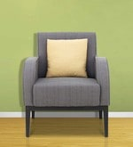 Rome One Seater Sofa in Grey Colour