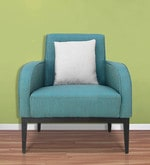 Rome One Seater Sofa in Teal Colour