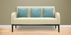Rome Three Seater Sofa in Cream Colour