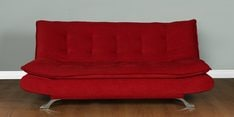 Royal Sofa cum Bed in Red Colour