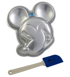 Rolex Aluminum Mickey Mouse Cake Mold With Spatula