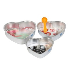 Rolex Heart Shape Aluminium Moulds - Set Of 5 - 1671757