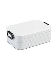 Rosti Lunch Box Take A Break, Midi - White (With Dividers)