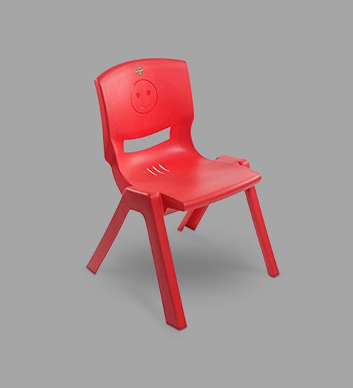 Buy Rock Kids Set Of 2 Chairs In Red By Cello Online Kids Chairs