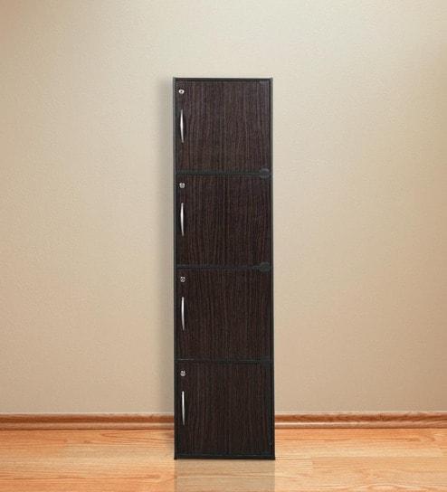 Buy Codey Four Door Filing Cabinet With Lock In Light Cappuccino