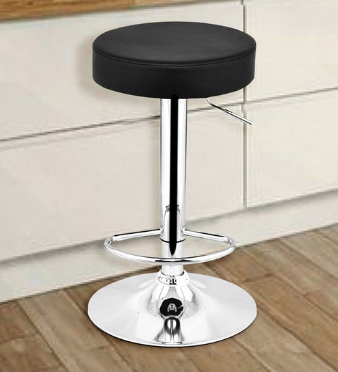 Awe Inspiring Roundtop Adjustable Height Swivel Bar Chair In Black By Workspace Interio Gmtry Best Dining Table And Chair Ideas Images Gmtryco