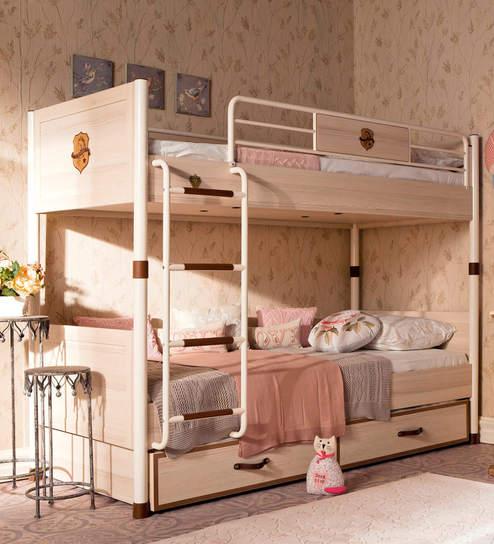 Attractive Buy Royal Kids Bunk Bed By Cilek Room Online   Bunk Beds   Kids Furniture    Pepperfry