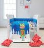 Fancy Fluff Robot 6-Piece Premium Baby Crib Set