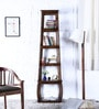 Rochelle Display Unit in Provincial Teak Finish by Woodsworth