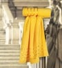 Spread Roman Yellow Cotton Bath Towel