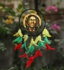 Rooh Dream Catchers Multicolour Wool Bob Marley Dream Catcher