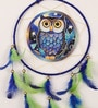 Rooh Dream Catchers Multicolour Wool Owl Dream Catcher