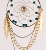 Rooh Multicolour Brass Vegan Dream Catcher