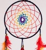 Rooh Multicolour Wool Healing Chakras Dream Catcher