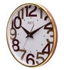 Rosetta Gold Plastic 13 Inch Round Canyon Wall Clock