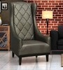 Royale Wing Chair in Metallic Golden Brown Colour by Sofab