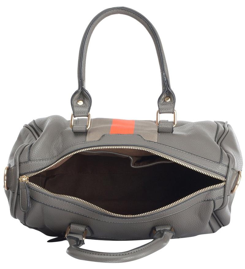 559bded7 Buy Ruby Stylish Gray PU Women's Handbag - Set of 2 Online ...