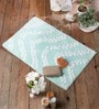 Barranquilla Bath Mat in Aqua by Casacraft
