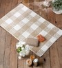 Beige Cotton 20 x 31 Bath Mat - 1 Pc by Rugs to Clear