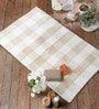 Felciano Bath Mat in Beige by Casacraft