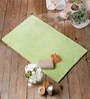 20 x 31 Inch Green Cotton Bath Mat by Rugs to Clear