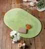 Amando Bath Mat in Green by Casacraft