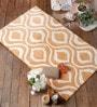 Leonardo Bath Mat in Orange by Casacraft