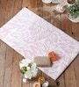 Alondro Bath Mat in Pink by Casacraft